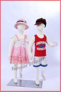 R4X2 2 X Children dolls flexble bendable Body Display Dummy Mannequin 37.4in