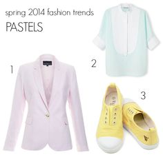 Spring has sprung. Your wardrobe is edited and your basics are sorted. What spring 2014 fashion trends in colour will you add to what you wear every day? Spring 2014, Summer 2014, Spring Summer, 2014 Fashion Trends, Spring Has Sprung, Pastels, Maternity, Colour, How To Wear