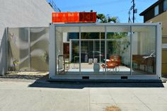Ilan Dei Studio Opens a Shipping Container Pop Up Store in Venice, CA | Inhabitat - Sustainable Design Innovation, Eco Architecture, Green Building