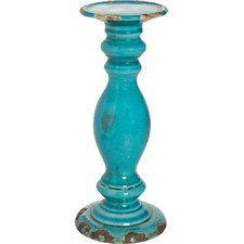 Candleholder in Teal
