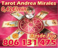 Tarot Andrea Mirales 0.42 eur/min 806131475  El trabajo de un buen vidente tarotista es mostrarte los c ..  http://tarragona-city.evisos.es/tarot-andrea-mirales-0-42-eur-min-806131475-id-658879