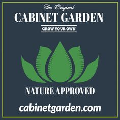 Cabinet Garden™ is a Nature Approved #hydroponic Home Growing Solution. #hydroponics #aeroponics #superponics #homegrow #homegrown #urbanfarmer #urbanfarm #urbanfarming #diy #doityourself #farmtotable #growyourown #growyourownfood #organic #eatwhatyougrow #vegetables #herbs #fruit #germination #plants #instagardenlovers #instagarden #grow #hydro #growbox #growroom #growcabinet #growcloset #CabinetGarden