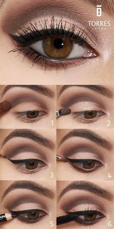 41 top rose gold makeup ideas that look like a goddess rose gold eyes ma ., 41 Top Rose Gold Makeup Ideas That Look Like a Goddess Rose Gold Eye Makeup . 41 Top Rose Gold Makeup Ideas That Look Like a Goddess Rose Gold Eye M. Eye Makeup Steps, Smokey Eye Makeup, How To Makeup Eyes, Tips For Winged Eyeliner, How To Do Eyeshadow, Applying Eyeshadow, Brown Eyeliner, Smoky Eye, Contour Makeup