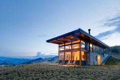 The silent and expansive landscapes of the Nahahum Canyon, north of Cashmere in Washington, are punctuated with an equally poised two-story hillside house. The 1,650 square feet Nahahum Canyon home, designed by Balance Associates, is crafted in the harmony and repose that its surroundings offer. The residence is articulated as a consolidated and self-contained cuboidal […]