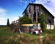 Last stop..always makes me wonder about the history and past..Who Drove that Bus? Why Would Land just be Forgotten? Luv that part of exploring abandoned properties etc. it makes you Imagine...