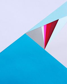 Simple and bold paper art by Carl Kleiner.