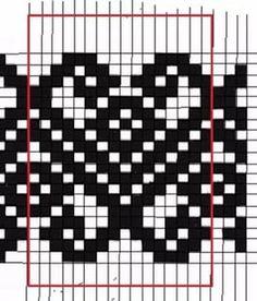 Осинка - lots more patterns on the site Tapestry Crochet Patterns, Fair Isle Knitting Patterns, Bead Loom Patterns, Knitting Charts, Knitting Stitches, Knitting Designs, Cross Stitch Patterns, Fair Isle Chart, Mochila Crochet