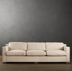 9' Collins Upholstered Sofa With Nailheads | Sofas | Restoration Hardware - $2795 to $3955