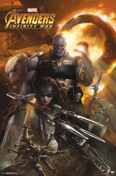 AVENGERS: INFINITY WAR Promo Posters Provide An Awesome New Look At Thanos And His Black Order