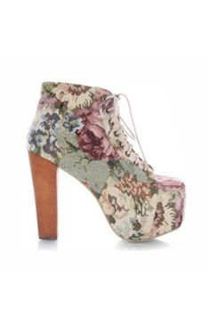 Jeffrey Campbell Lita Floral Tapestry http://www.folkster.com/jeffrey-campbell/lita/lita-floral