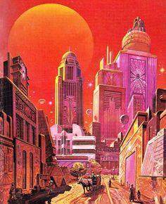 Angus McKie - Redworld, 1986.