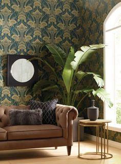 Art Deco Room, Art Deco Living Room, Art Nouveau Bedroom, Art Deco Bed, Art Deco Decor, Interiores Art Deco, Art Nouveau Interior, Art Deco Interior Living Room, 1920s Interior Design