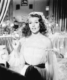 gif vintage my post Rita Hayworth Gilda *gilda
