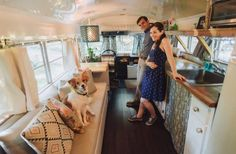 I'd like you to meet Julie and Andrew, a young couple who transformed an old school bus into their very own mortgage-free cottage on wheels. Since the bothof them love to travel and did not …