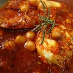 tastycookery | Italian Chicken and Chickpeas