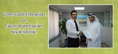 Green Coast Enterprises ile Falcon Waterfree Techologies arasında dev anlaşma imzalandı.