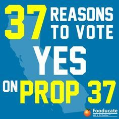 """""""Revolving doors between the FDA / USDA /other government offices and biotech companies such as Monsanto have delayed GMO labeling since the early 90′s when the first crops were introduced."""" Read more on this & find 36 other reasons to vote YES on 37 on today's blog."""