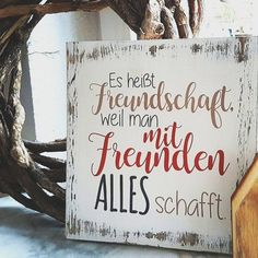 Wooden Shield-It's called Friendship wood sign - It means friendship . - Wooden Shield-It's called Friendship Wooden shield – It does not mean the friendship Woul - Wooden Diy, Wooden Signs, Happy Quotes, True Quotes, Lucky Quotes, Happiness Quotes, Delete Quotes, Simple Gifts, Photo Quotes