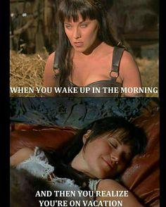 That feeling... Xena