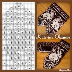 Knitting mittens pattern inspiration ideas for 2019 Knitting Charts, Knitting Stitches, Knitting Patterns Free, Free Knitting, Baby Knitting, Crochet Mittens Pattern, Knitted Gloves, Knitting Socks, Knit Stitches