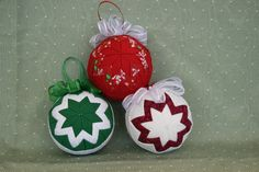 Cute Christmas Quilted Ornament - for a Good Cause - Christian Appalachian Project