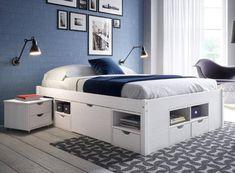26 Ideas For Bedroom Ideas Ikea Bed Headboards Ikea Bed Headboard, Ikea Bedroom, Headboards For Beds, Bedroom Furniture, Furniture Design, Bedroom Decor, Bedroom Ideas, Murphy Bed Ikea, Murphy Bed Plans