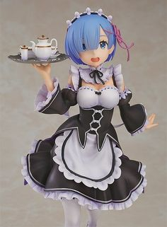 New Arrival Re:life In A Different World From Zero Anime Action Figure Rem Ram Maid Sitting Ver Model Kneeling Decoration Doll 50% OFF Toys & Hobbies