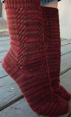 Ravelry: Climbing Lace Socks pattern by Tabitha's Heart Crochet Quilt, Crochet Socks, Knitted Slippers, Knit Or Crochet, Knitting Socks, Hand Knitting, Knit Socks, Crochet Granny, Lace Socks