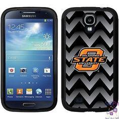 $25.50: Oklahoma State Cowboys Samsung Galaxy S4 Guardian Case (Gradient Chevron Design)