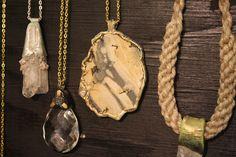 Adina Mills quartz crystal jewelry