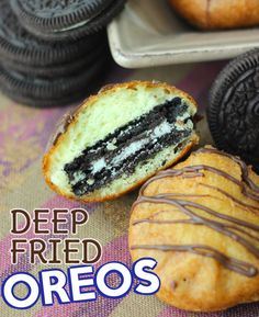 If you have ever wondered how to make deep fried Oreos, this post is for you!  From the pictures to the instructions we will having you wanting fried oreos!