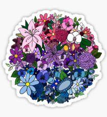 """Bi Pride Flowers"" Stickers by elleniona Horizontal Murphy Bed, Modern Murphy Beds, Murphy Bed Plans, Tumblr Stickers, Buy Art Online, Decorate Your Room, Queen, Art Auction, Sticker Design"