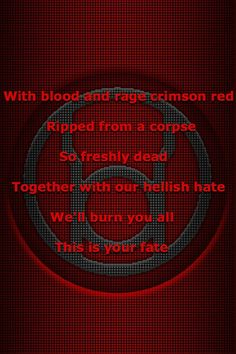 Red Lantern corps oath