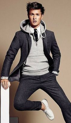 Steal His Look: #Menswear-Ready Hoodie Under a Suit