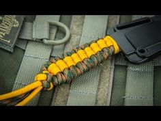 How to Wrap a Knife Handle with Paracord - BoredParacord - YouTube