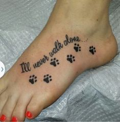 Paw print tat is part of Cute Dog tattoos Tatoo - Cute Dog tattoos Tatoo Mom Tattoos, Family Tattoos, S Tattoo, Cute Tattoos, Body Art Tattoos, Tattoos For Women, Tattoo Quotes, Paw Print Tattoos, Tattoos For Pets