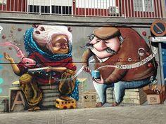 Мадрид украсят граффити