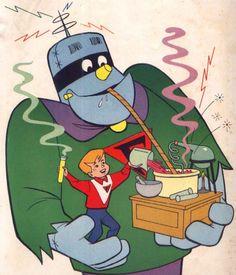 Frankenstein Júnior - desenho da década de 60
