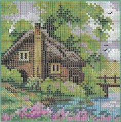 Patrones y esquemas gratis: casas
