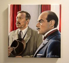 Chief Inspector Japp and Poirot ~~Plymouth Express.