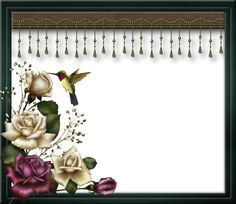 """Rose Frame 3"" by collect-and-creat.deviantart.com on @DeviantArt"