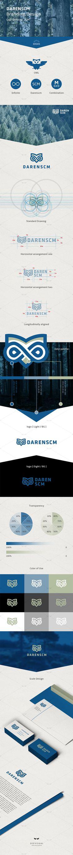 Branding for DarenSCM on Behance