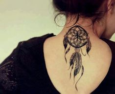 Dreamcatcher tattoo - different placement, but love the tattoo