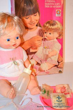 Boneca Papinha da Estrela... Anos 70!