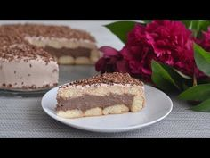 Jednostavna torta gotova za 15 minuta. Topi se u ustima i nema pečenja. - YouTube Melt In Your Mouth, Pastel, Cheesecake, Dessert Recipes, Pie, Sweets, Puddings, Food Cakes, Sheet Cakes