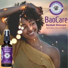 For us at BaoCare we believe no matter what your age, you have a natural beauty that is uniquely yours. We made Radiance especially for you… to help your natural inner beauty shine through. Radiance is beautiful in every way, from the way we make it, the 100% natural ingredients we use, to how it makes YOU feel: beautiful and confident with a naturally radiant glow! Visit our website and read more about Radiance... #baocareskincare #baobaboil #naturalingredients #madeinsouthafrica Natural Skin Care, Natural Beauty, Make You Feel, How Are You Feeling, Baobab Oil, Natural Solutions, Confident, Believe, Glow