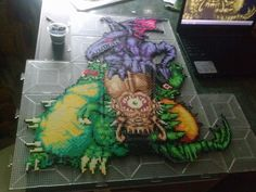 Super Metroid boss statue FULL COLOR!! by tofuAE86 on DeviantArt