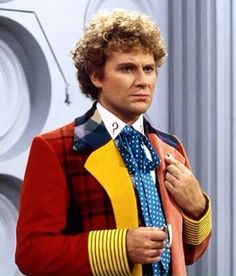 The Sixth Doctor Colin Baker Doctor Who Actors, Doctor Who Tv, Watch Doctor, Doctor Who Tardis, Good Doctor, Doctor Who Wallpaper, Colin Baker, Classic Doctor Who, Who Do You Love