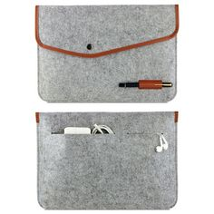 "High Quality Notebook Laptop Wool Felt Sleeve Bag for Macbook Air 11"" 13"" 15""Protective Case Computer Bag Laptop Bag Liner Bag"