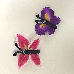 Magnetic Flower Butterflies Craft